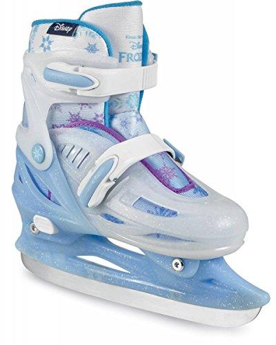 Phuzion Kinder Frozen Sisters Rule Ice Skate Schlittschuhe, Glitter, 27-30