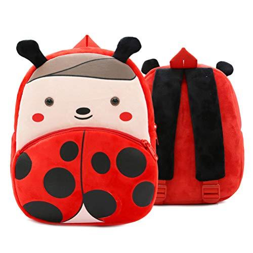 WINBST Plüsch Schulrucksack Plüschtier Reise Kinder Kindergarten/Schultasche Rucksack Cartoon Mini Kinder Tasche für Baby Mädchen Junge