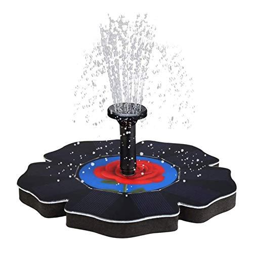 Adesign Bomba de Fuente Solar, Panel de Fuente de Agua de energía...