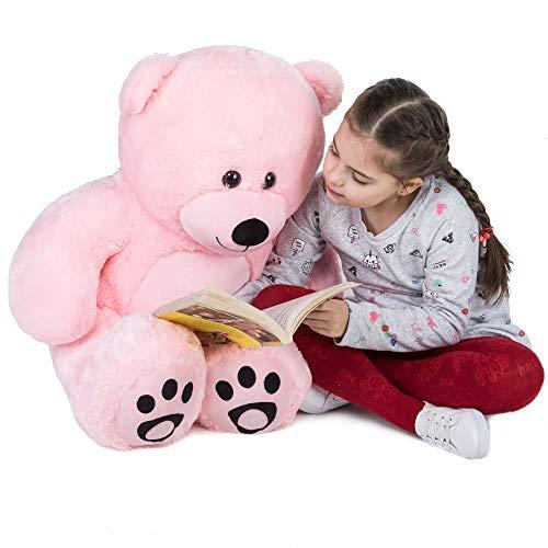 WOWMAX 4.5 Foot Light Brown Giant Teddy Bear