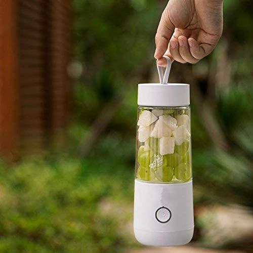 LYYN 350ml Mini tragbare elektrische Fruchtsaftpresse USB wiederaufladbare Smoothie Maker Mixer Maschine Sportflasche Entsaftung Tasse