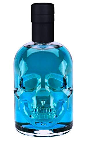 Absinth Skull Totenkopf Arctic Blue 0,5L 55% Vol mit maximal erlaubtem Thujon 35mg/L