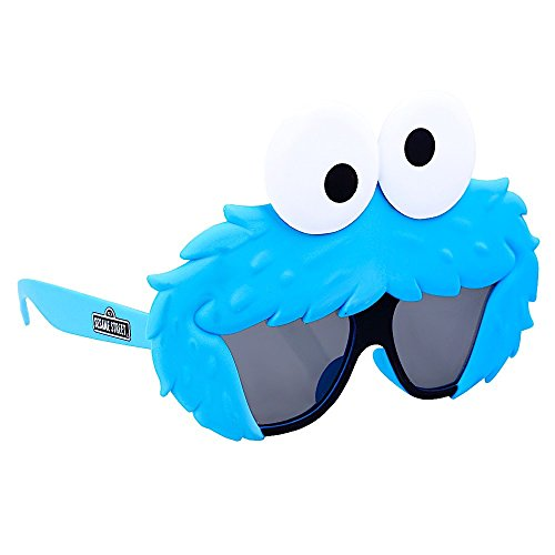 Sun-Staches Costume Sunglasses Lil' Characters Cookie Monster Party Favors UV400