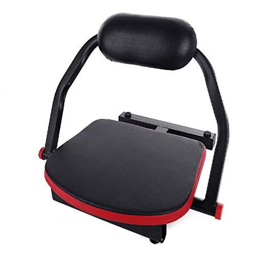 Máquina de abdomen pequeña, plegable, automática, equipo de ejercicios para el hogar para hombres y mujeres para ejercitar los músculos abdominales, el abdomen y la cintura, y el ejercicio corporal