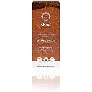 KHADI - Tinte vegetal castaño dorado - Cantidad 100 gr - Polvo 100% natural