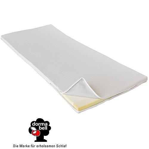 Dormabell Kaltschaum Matratzen-Topper, optimale Druckentlastung für schmerzempfindliche Personen, ca. 4cm Höhe, Made in Germany