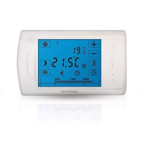 C804 Cronotermostato Elettronico Touch Screen A Batterie Fantini Cosmi