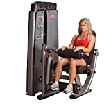 Body-Solid DLEC Pro Dual Leg Extension and Curl Machine for DGYM Machine Without Weight Stack