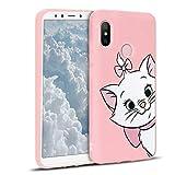 ZhuoFan Xiaomi Mi A2 Case, Phone Cases Pink Liquid Silicone