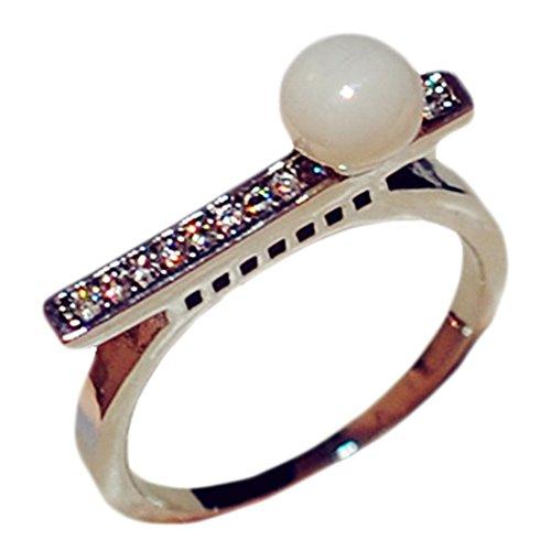 mode anneaux ongles art / joli ongle deco, (doré) / 18mm(E)
