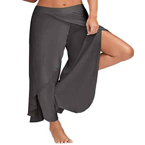 A/N Sommer Frauenhose Sexy Cross Wide Leg Yoga Hose Sport Fitness