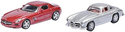 DICKIE-Schuco 452490000 - Magnetautos Mercedes Benz Set, 1 87