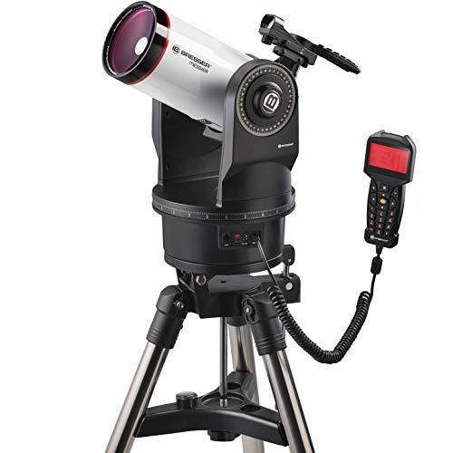 Bresser Messier MCX-102 - Telescopio con Distancia Focal de 1470 mm y telescopio Goto EQ/AZ con Montaje ecuatorial o...