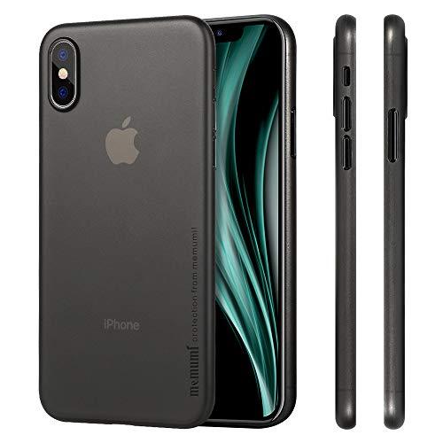 memumi Funda Compatible con iPhone X, Funda para iPhone 10, Ultra Slim Anti-Rasguño y Resistente Huellas Dactilares Totalmente Protectora Caso de Plástico Duro Cover Case [Slim Series]