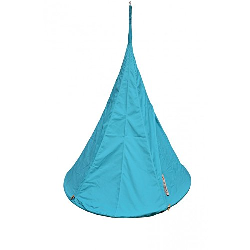 Cacoon Single Door Turquoise Ø1,5 P1010, 285 g/m2 with 35% Coton And 65% Polyester, Turchese