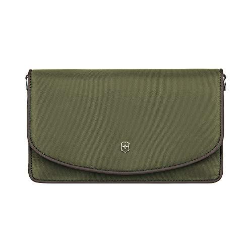 Victorinox Victoria 2.0 - Bolso bandolera para mujer, color verde