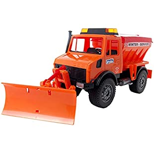 02572 MB-Unimog Winter Service with Snow Plough:Deepld