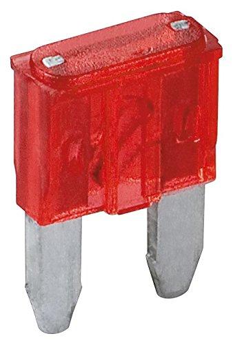 Fixpoint 20389 Kfz-Sicherungssortiment Mini, 10 A, Rot (6-er pack)