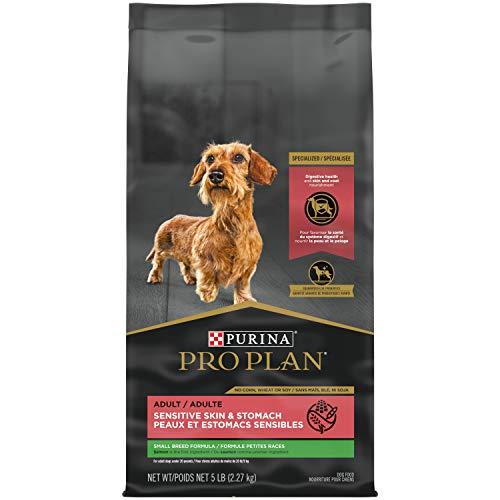 Purina Pro Plan High Protein, Sensitive Skin & Stomach Small Breed Dry Dog Food, Salmon & Rice Formula - 5 lb. Bag