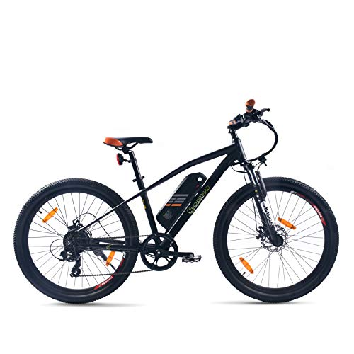SachsenRad E-Bike R6 27,5 Zoll 250W Motor 11AH Lith. Batterie 400 WH Akku Shimano Tourney TX 7 100km Reichweite Scheibenbremsen Power-Off-System StVZO-Zertifiziert