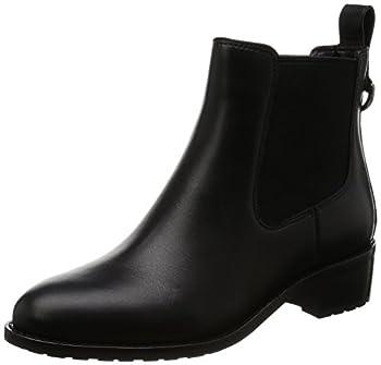 Cole Haan Women s Newburg Boot Black WP Leather 7 B US