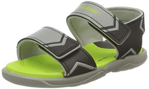 Rider Comfort Baby, Zuecos Unisex niños, Multicolor Gris, Negro y Verde 8617 0, 24 EU
