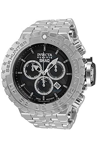 Invicta SHAQ 34612 Reloj para Hombre Cuarzo - 57mm - con 126 Diamantes