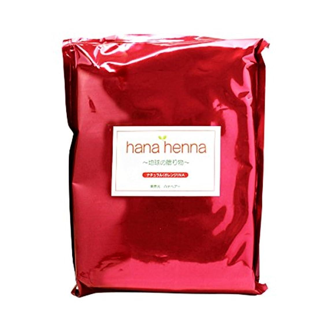 ごみボーダー順応性hanahenna ナチュラル NA(オレンジ) 500g