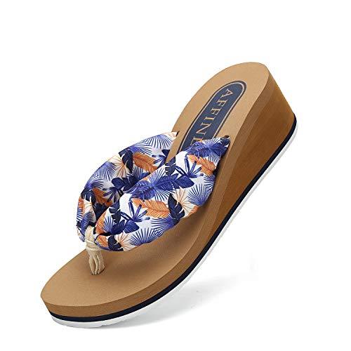 AFFINEST Infradito Donna Flip Flops Scarpe da Spiaggia e Piscina