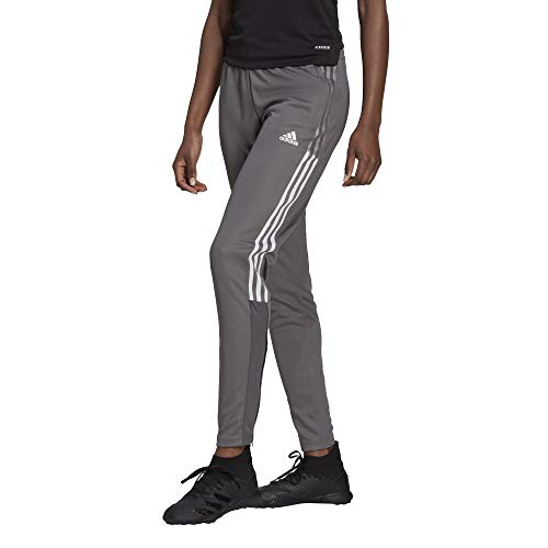 adidas womens Tiro 21 Track Pants Team Grey Medium