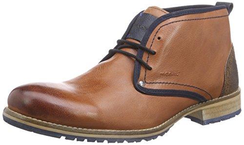 Manitu Herren 660335 Chukka Boots, Braun (Cognac), 45 EU
