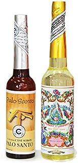 AROMASENSES Pack 2 Unidades 1 Agua Florida Perú Amarilla 270 ml y 1 Unidad Agua de Palo Santo 221 ml