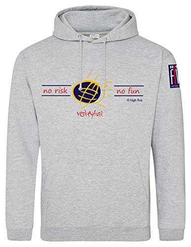 High Five - Volleyball Pullover & Sweatshirts für Herren in heather grey, Größe XXL