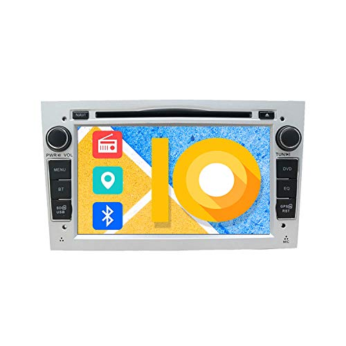 ZWNAV 7 pollici Double Din Autoradio Stereo Lettore DVD per Opel Vauxhall Corsa (D) Vectra Astra (H) Zafira (B) Navigazione GPS Bluetooth USB SD FM AM RDS SWC Mirror Link Radio Video