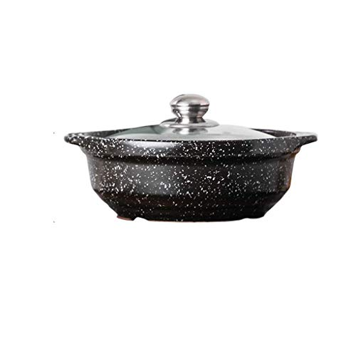 SCRFF Antiadhésives Faitout Casserole Marmite, Anti-Warp non toxique antiadhésives Batterie de cuisine, induction Compatible, Lave-vaisselle et four Safe Pot antiadhésives (Size : 2.5l)