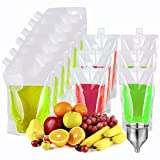 GENNISSY 12PCS with 1PC Funnel Travel Plastic...