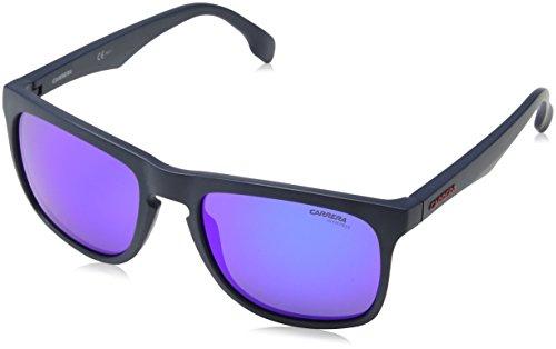 Carrera 5043/S Z0 Gafas de sol, Matte Blue, 56 Unisex-Adulto