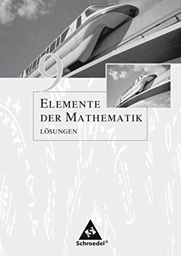 elemente der mathematik 9 loesungen