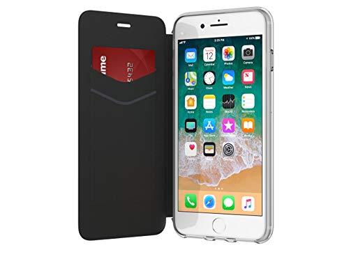 Griffin GB42754 5.5' Funda Cartera Negro, Transparente Funda para teléfono móvil - Griffin GB42754, Funda Cartera, Apple, Apple iPhone 7 Plus/6 Plus/6s Plus, 14 cm (5.5'), Negro, Transparente