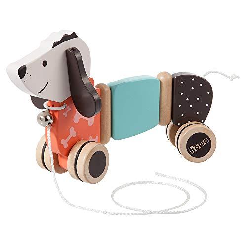 Howa Nachziehtier Hund Fidi aus Holz 6015