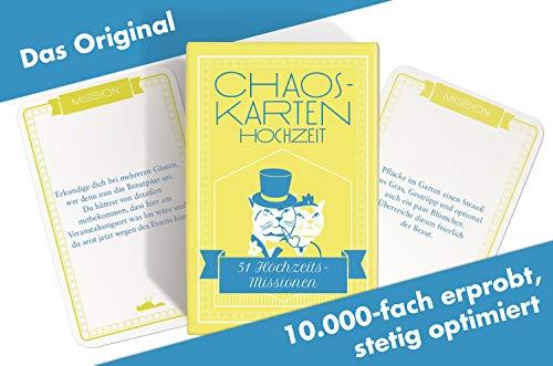 Chaoskarten Hochzeitsspiel - 4