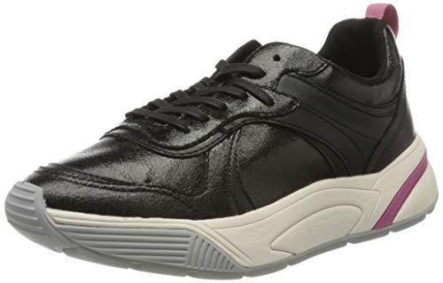 ESPRIT Damen Misha LU Sneaker, Schwarz (Black 001), 42 EU