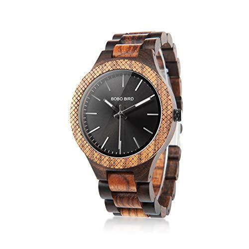 Men's Retro Zebra Wooden Watch