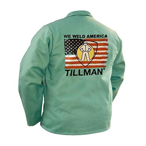 Tillman TIL9030L Large'We Weld America' FR Welding Jacket