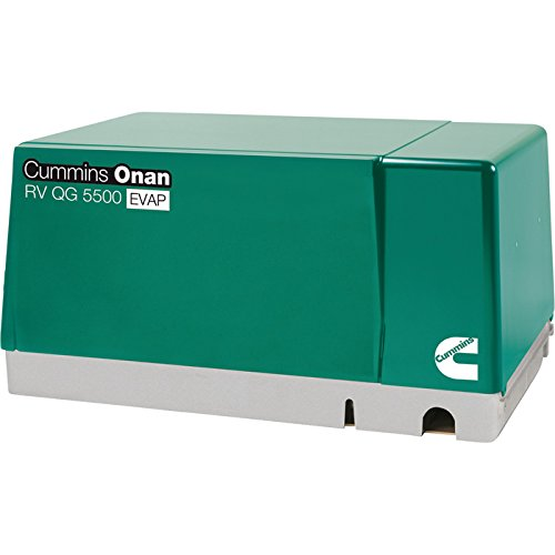 Cummins Onan Quiet Series Gasoline RV Generator - 5.5 kW, CARB and EPA Compliant, Model Number 5.5HGJAB-7103