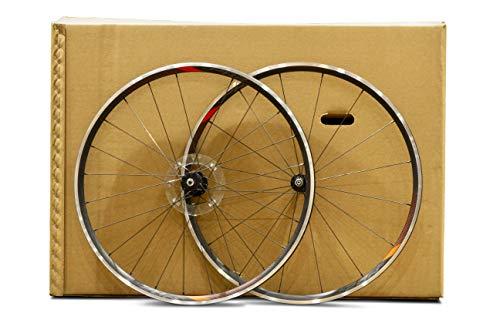 SendSecure - 10 cajas de cartón para transporte de bicicleta, tamaño extra grande, 190 x 23 x 112 cm