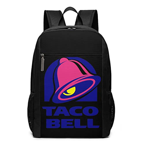 17inch Backpack Taco Bell School Business Durable Laptops Bag Charging Port Gifts Men Women Student