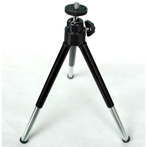 Morjava MK-HY01 Cell Phone Tripod Universal Mini Extra-Long Extended Tablet Desktop Tripod Stand for Digital Camera with Holder Black