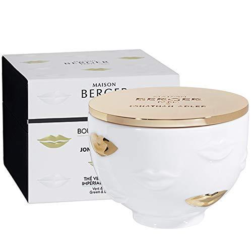 Parfum Berger Thé Vert Impérial - Vela perfumada (300 g), Color Blanco