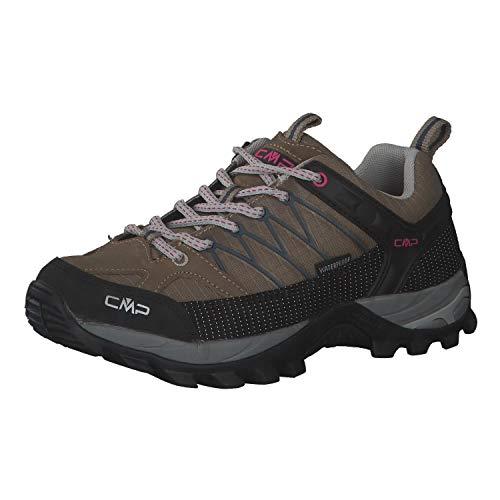 CMP Damen Trekking Schuhe Rigel Low 3Q54456 Castoro 40
